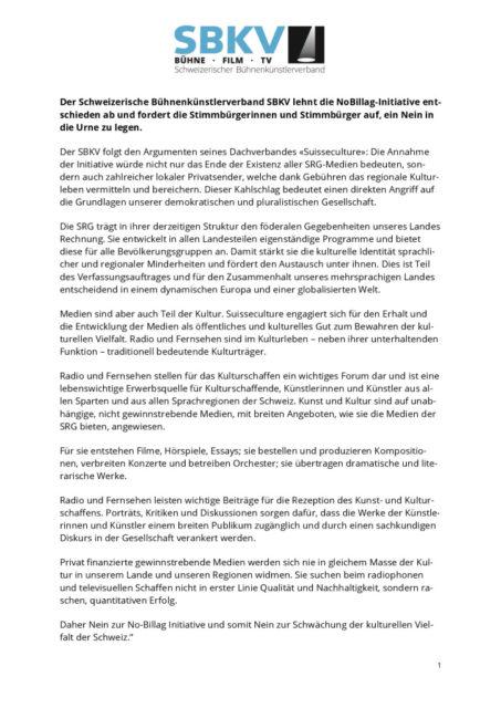 thumbnail of Der-Schweizerische-Bühnenkünstlerverband-SBKV-lehnt-die-NoBillag